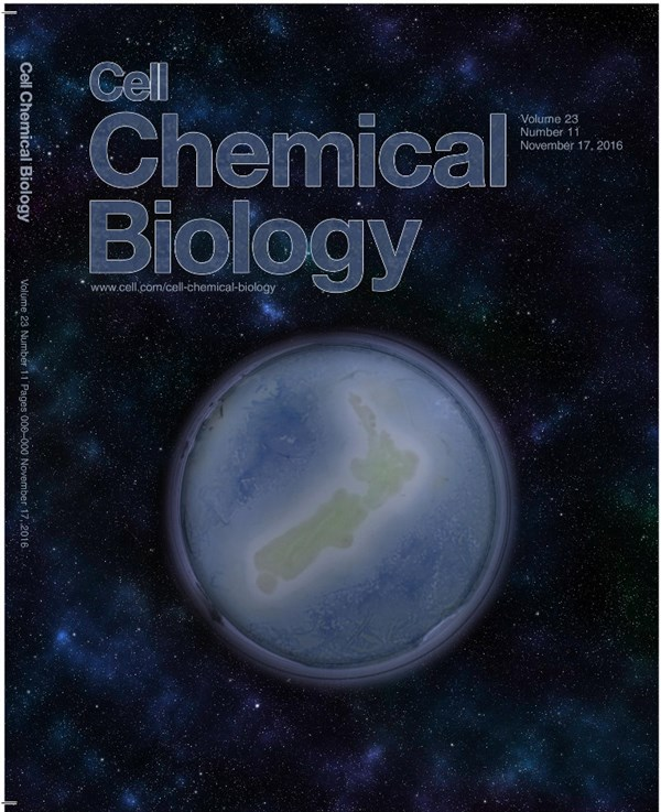 Cell Chemical Biology Cover David Ackerley Lores