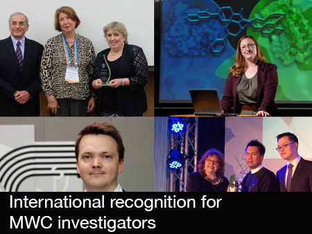 International recognition for MWC investigators (2015)