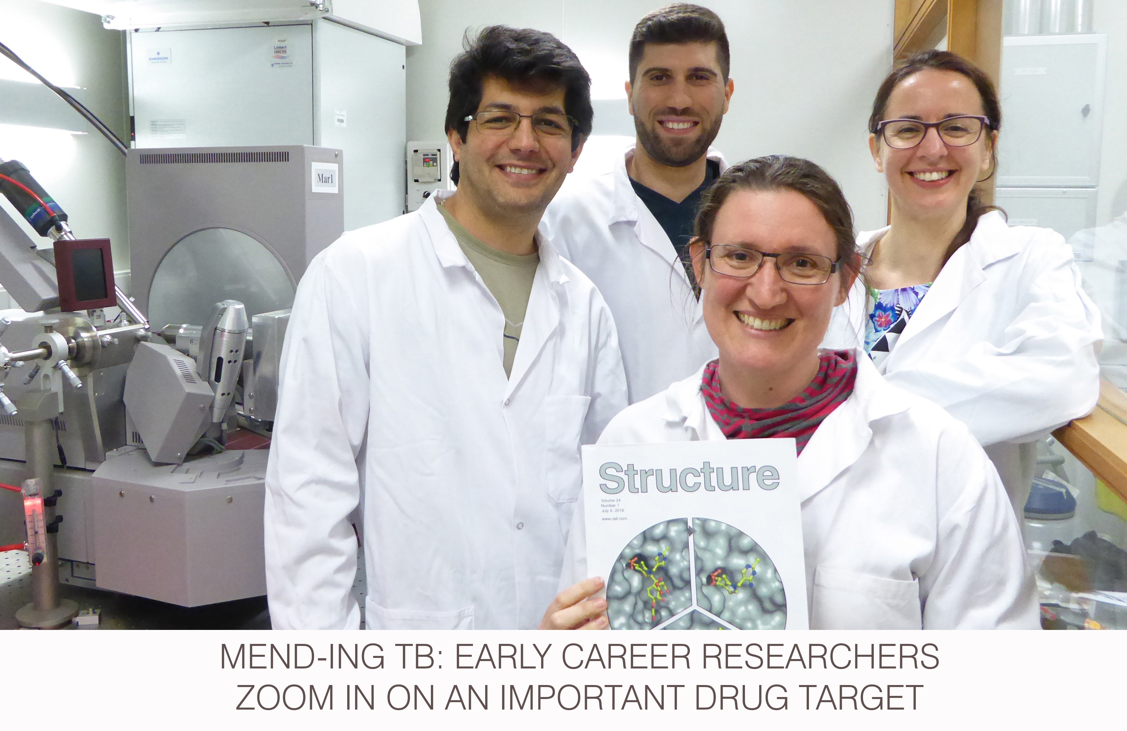 MenD-ing TB: early career researchers zoom in on an important drug target