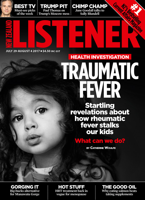 New Zealand Listener covers MWC rheumatic fever research